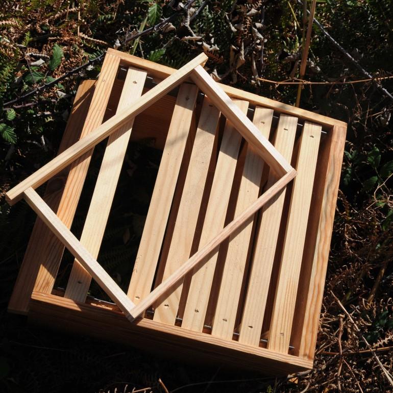 Quadros móveis – colmeia Warré