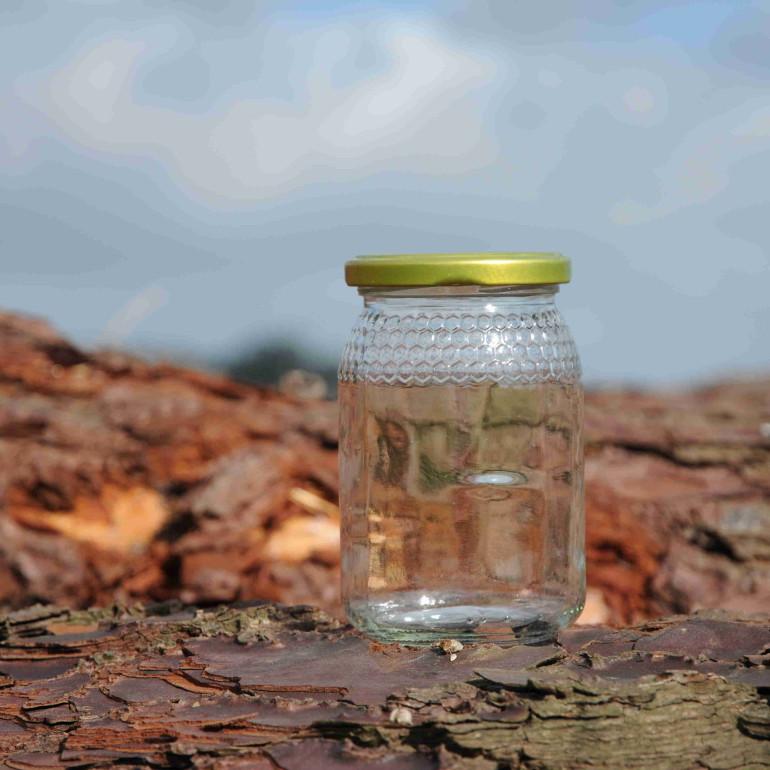 Frasco para mel de 0,5 Kg