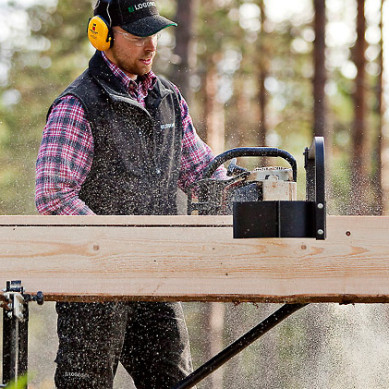 The most evolved of portable sawmills